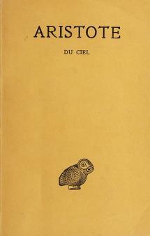 Cover of: Du Ciel | Aristotle